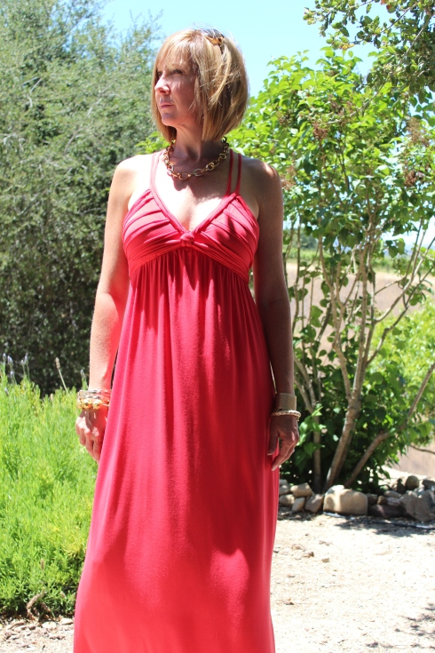 Tangerine Dream Summer Dress