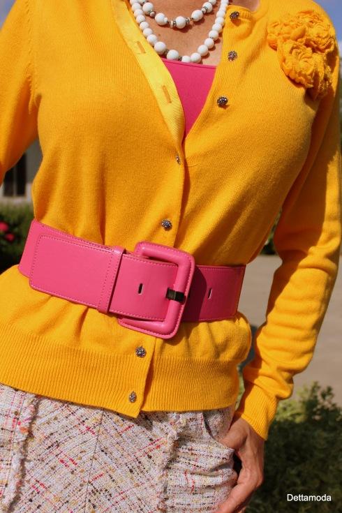 hot pink belt