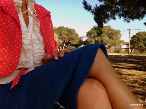 womens vintage outfit