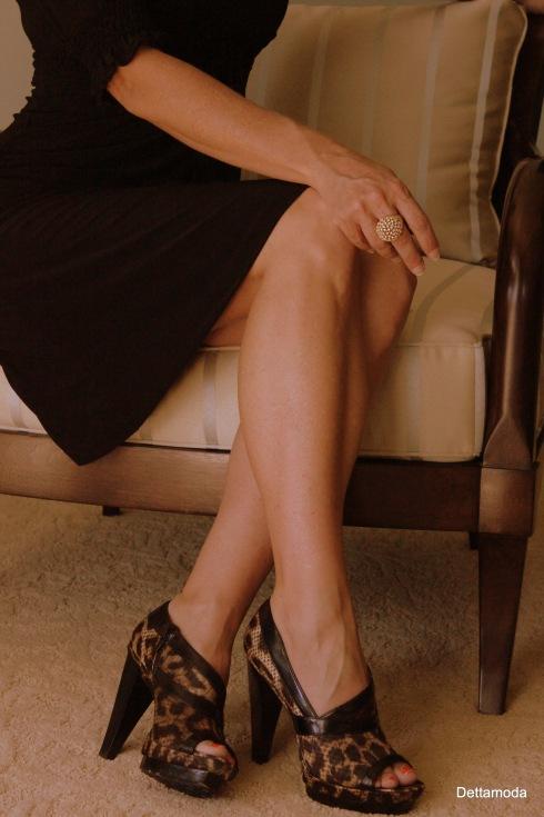 leapord heels