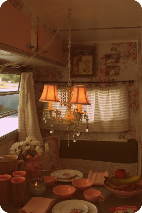shabby chic trailer