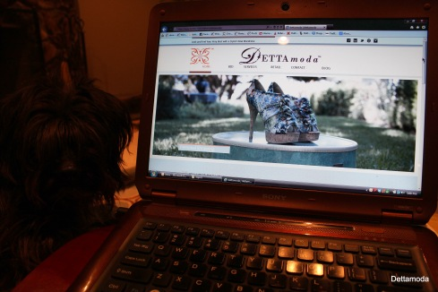 1. Completing the final touches to my website.